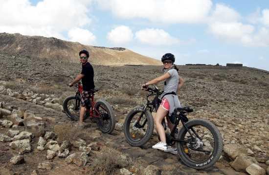 E-Bike Tour Corralejo Fuerteventura 3 Stunden