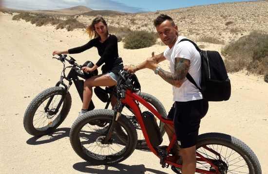 E-Bike Tour Corralejo Fuerteventura 5 Stunden