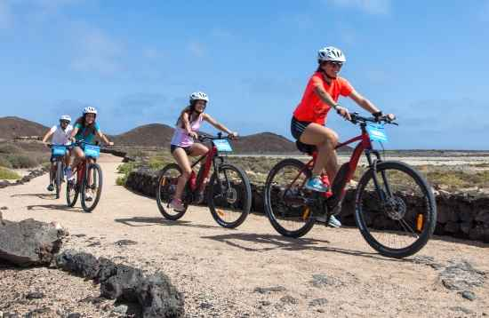 Vulkan E-Bike Tour Fuerteventura 3 Stunden