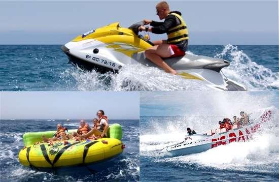 Wassersport Paket Crazy Ufo Morro Jable Fuerteventura