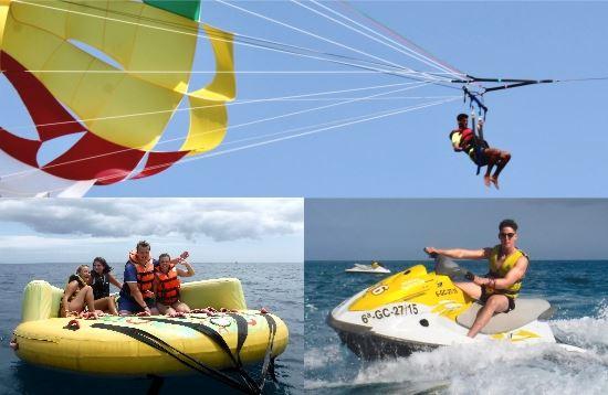 Wassersport Paket Parasailing Morro Jable Fuerteventura