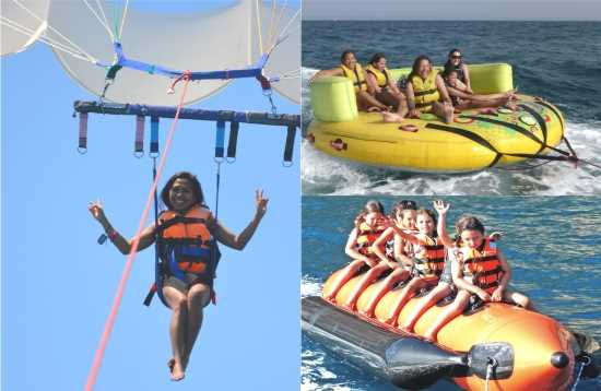 Wassersport Paket Banana Boat Morro Jable Fuerteventura