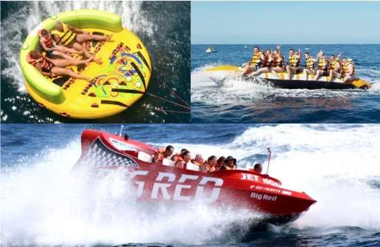 Wassersport Paket Jet Boat Morro Jable Fuerteventura