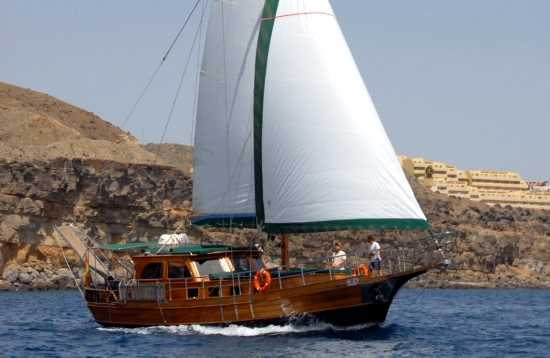 Paradies Segelboot Ausflug Fuerteventura