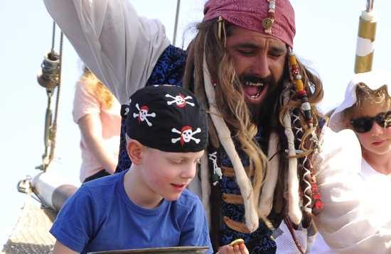 Piraten & Delfine vor Jandía Fuerteventura