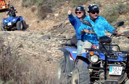 Quad Tour Caleta de Fuste Fuerteventura